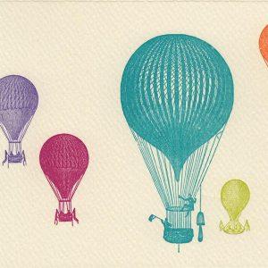 Bunte Ballone, Vorderseite