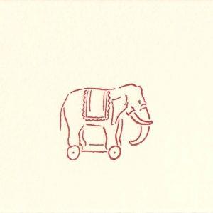 Kleiner Roll-Elefant